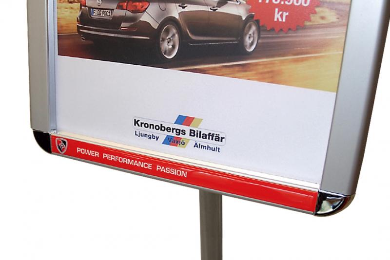 3D-logotarra, displayteline A4
