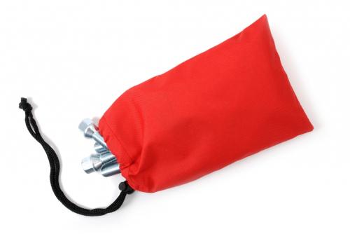 Pulttipussi ilman painatusta, punainen